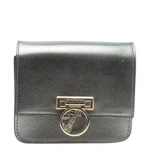Versace Square Silver Leather Crossbody Bag 182250